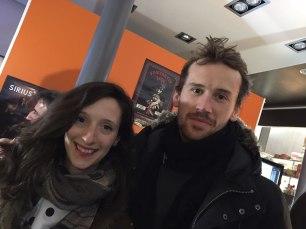 Laurine et Baptiste à La passerelle.2 café disquaire